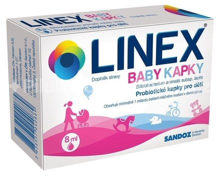 Linex Baby kapky