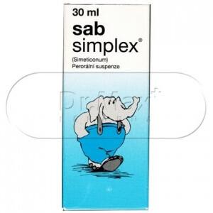 Sab Simplex kapky / perorální suspenze